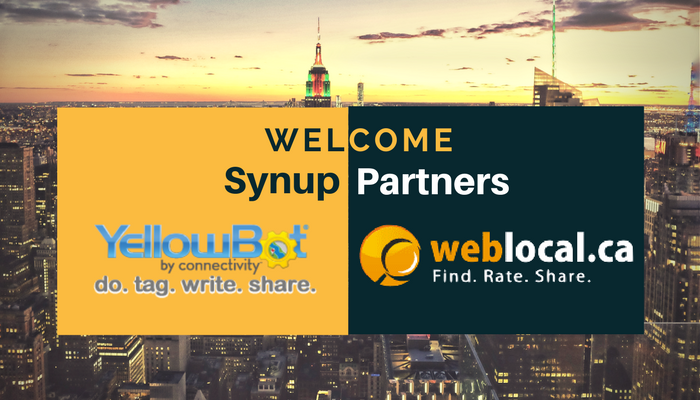 synup's new partners: weblocal+yellowbot
