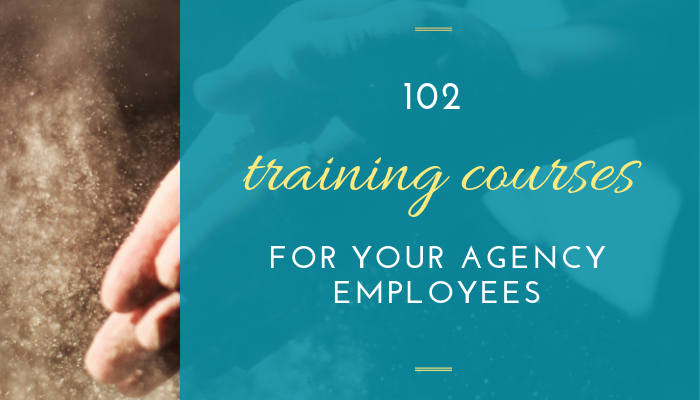 training courses for agency employees