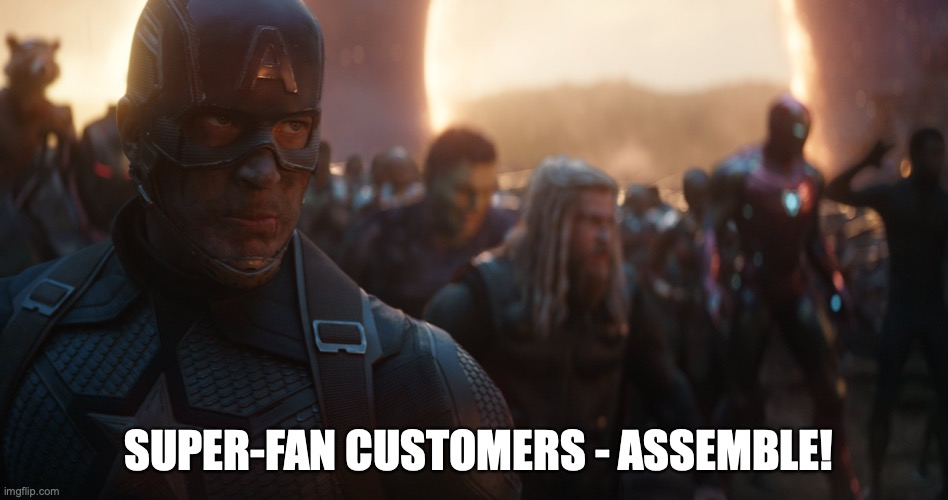 avengers super fan meme